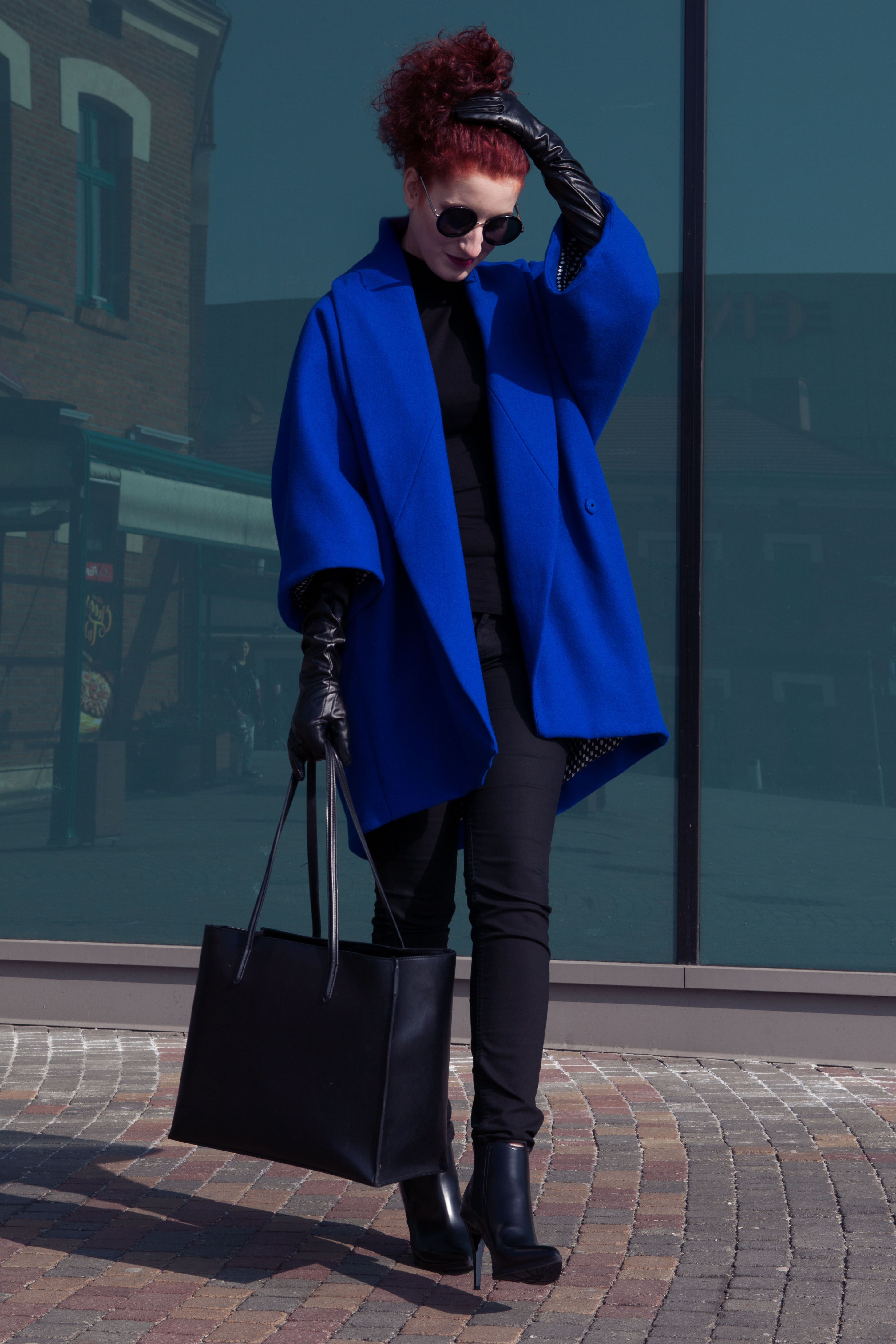 royal blue coat